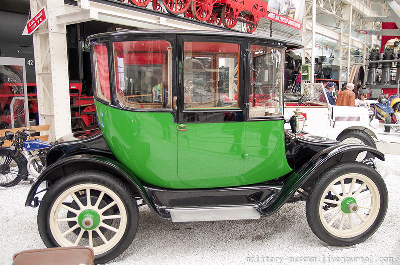 Оценка прогресса электромобилей за 110 лет: Detroit Electric 1907