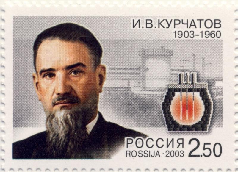 Первый промышленный атомный реактор СССР