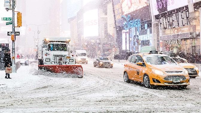 Америка вымерзает: в США ждут рекордных морозов до -35