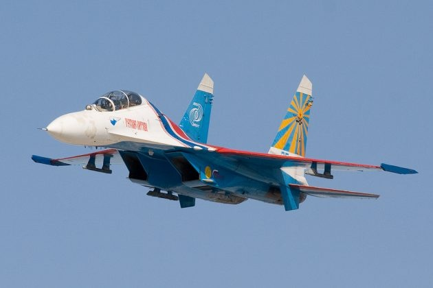 Иностранцы об экстремальной посадке Су-27: «Попробуйте это сделать на пластиковых F-22»