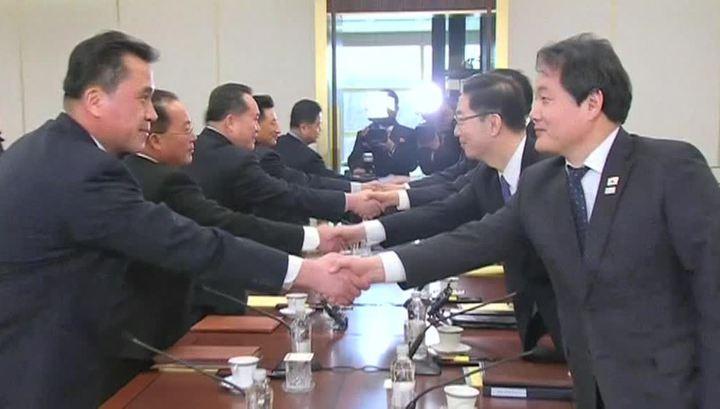 Между Кореями тает лед: Сеул и Пхеньян сели за стол переговоров