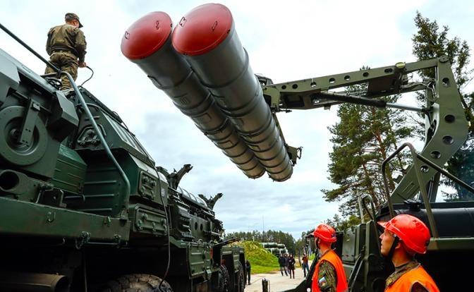 С-400: Россия закрывает от США небо над Крымом