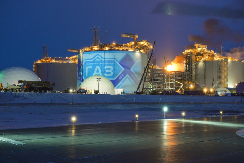 Заказы на сжиженный природный газ из Арктики расписаны на 15 лет вперед