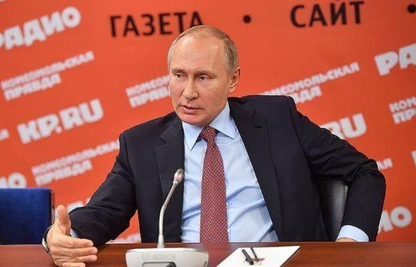 Владимир Путин в «Комсомолке»