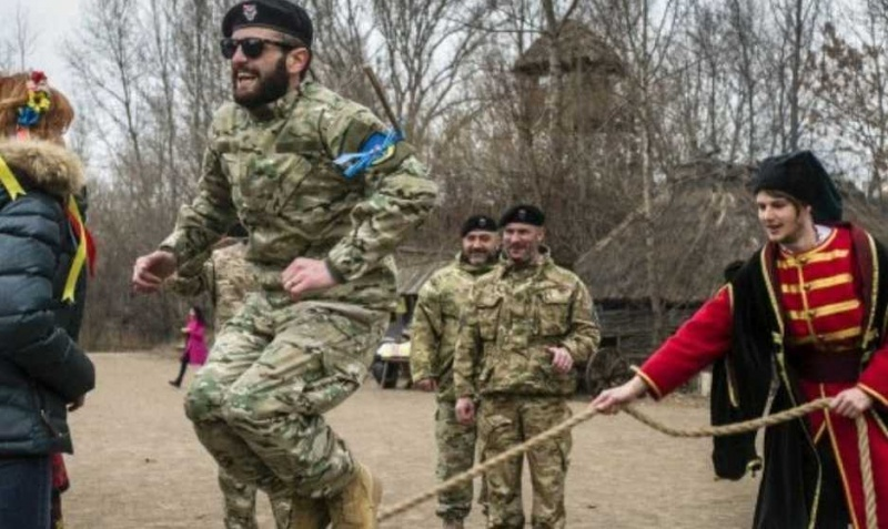 Украинский урок грузинским легионам