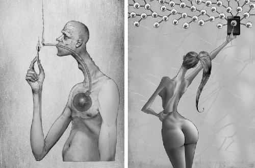 Эти 15 рисунков – невероятное отражение того, что сделали с нашим обществом