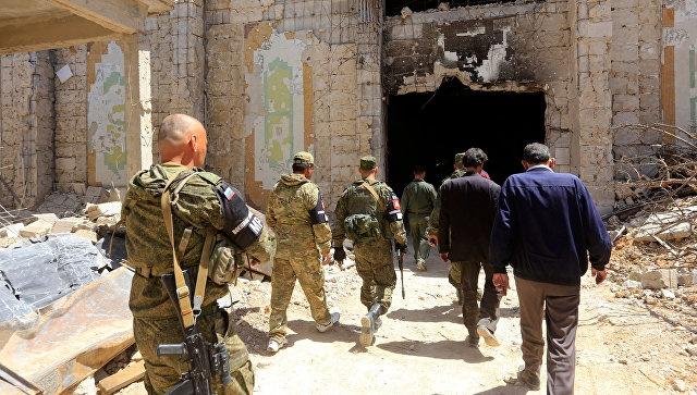 Российские военные вышли на след организаторов провокации с химатакой в Сирии