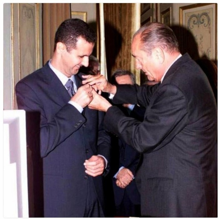 Франция начала процедуру лишения Башара Асада ордена Почётного легиона