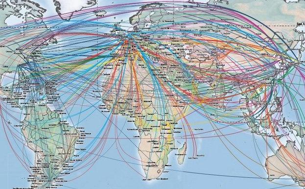 Авиакомпании США испуганы возможностью лишения права летать через Россию