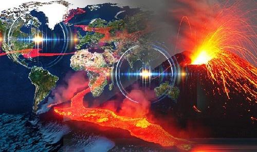 Активизация вулканов по всей планете.