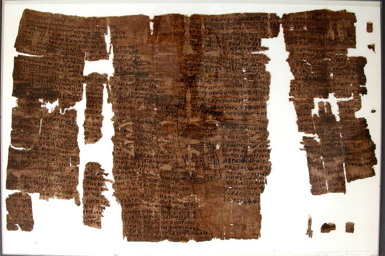 Ученые расшифровали текст древнего папируса