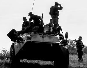 Российский десант высадился в центре Африки