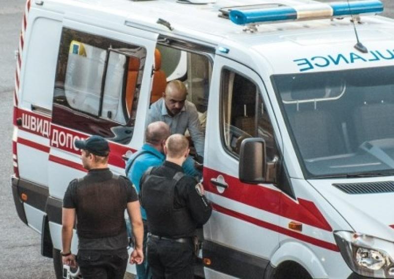 Мустафа Наейм регулировал движение в центре Киева и заработал удар в челюсть