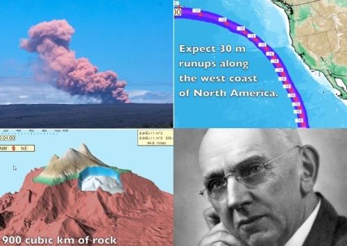 Извержение вулкана Килауэа на Гавайах: через три месяца Калифорния станет дном океана.