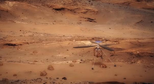 НАСА отправит вертолет на Марс