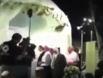 Ракета армии Сирии сорвала свадьбу в Израиле