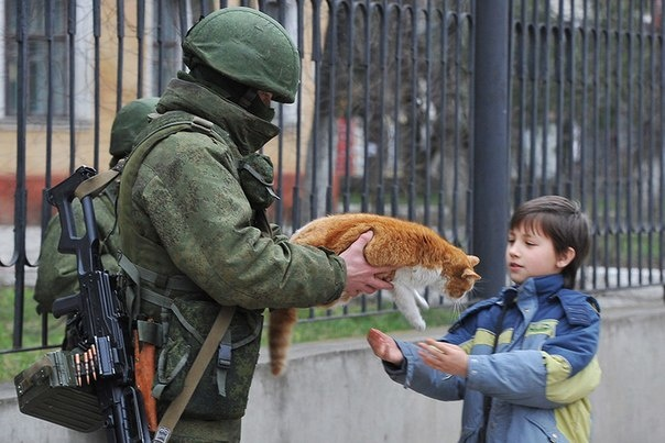 Александр Роджерс: Крым будет. Спасибо вежливым людям…