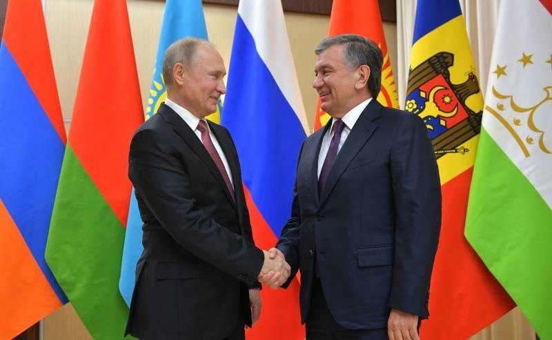 Любовь Ташкента к Вашингтону: стадия взаимной симпатии
