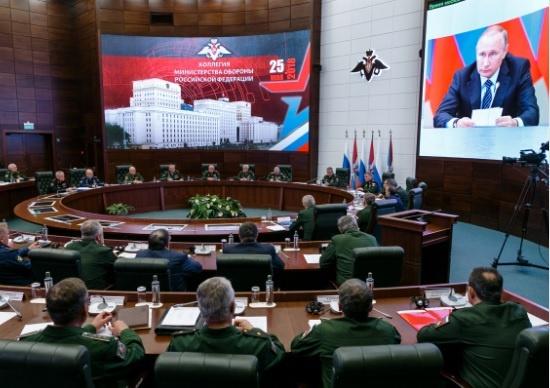 Заседание Коллегии Министерства обороны и формирование 127-й мотострелковой дивизии