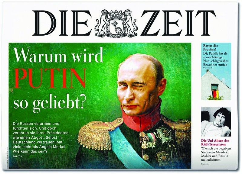 Как на самом деле немцы относятся к Путину