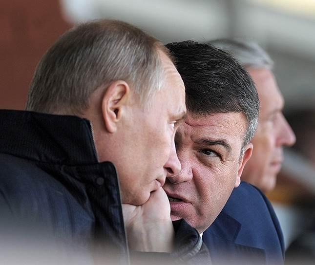 Первое интервью экс-министра обороны Анатолия Сердюкова после ухода с должности