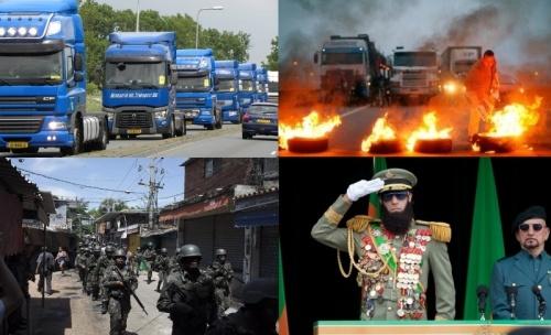 В Бразилии намечается военный переворот.