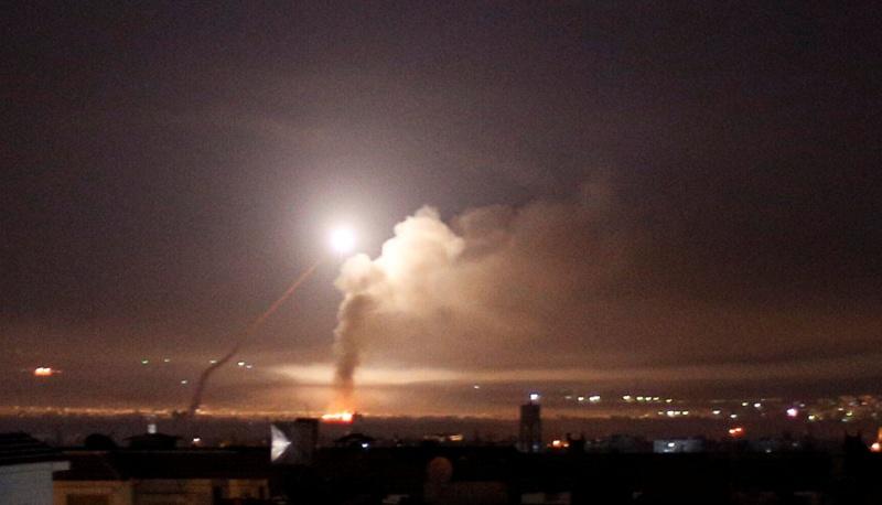 ПВО Сирии сбили более половины выпущенных Израилем ракет