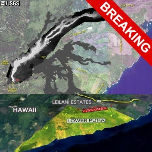 Землетрясение 5.5 на Гавайах – это форшок. Скоро последует нечто большее.