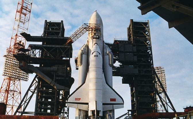 Россия в космосе будет догонять советский «Буран»