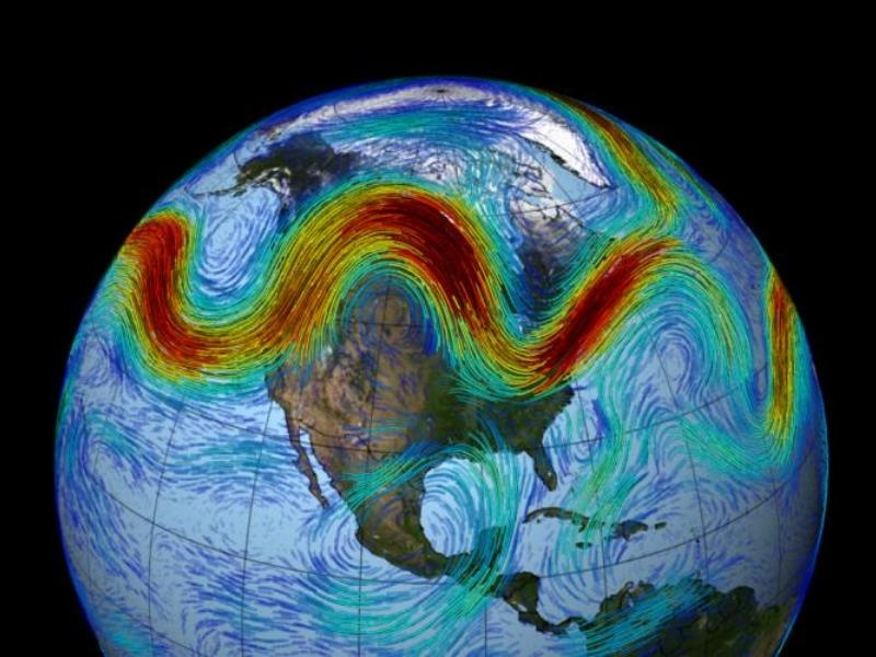 Воздушные пробки – причина разрушительных погодных аномалий