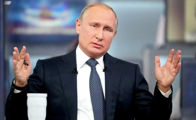 «Прямая линия» с Путиным: от Эйнштейна до дальневосточного гектара