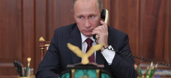Путин потребовал от Порошенко освободить арестованных на Украине российских журналистов