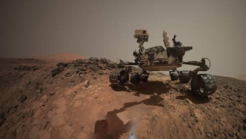 На Марсе обнаружены следы органики