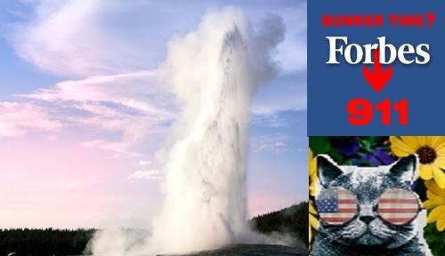 Йеллоустоун: Стимбот Джейзер начал 9-е извержение!