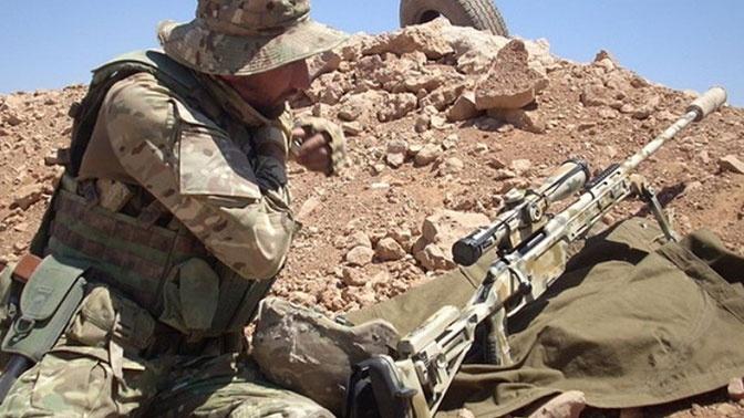 Противотанковый Дед: как снайпер-герой сорвал атаку десятков террористов в Сирии