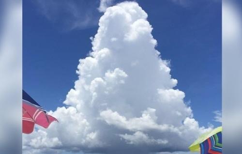 Странное облако в Алабаме опровергает все законы природы.
