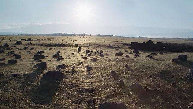 Извержение вулкана покрыло пляжи Гавайев загадочными золотыми