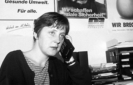 Какой была Ангела Меркель будучи гражданкой ГДР