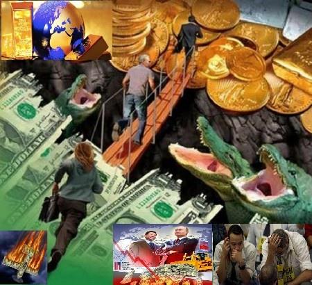 Мир отказывается от доллара, как от резервной мировой валюты и отдает предпочтение золоту.