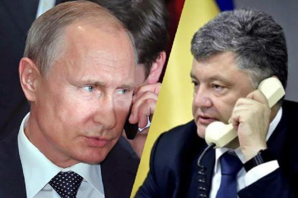 Кремль раскрыл настоящую причину звонка Порошенко Путину