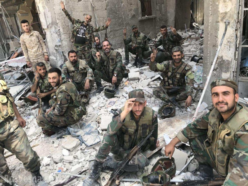 Сирия: Российские военные обнаружили подземный госпиталь боевиков, созданный при помощи детского фонда ООН (ФОТО)