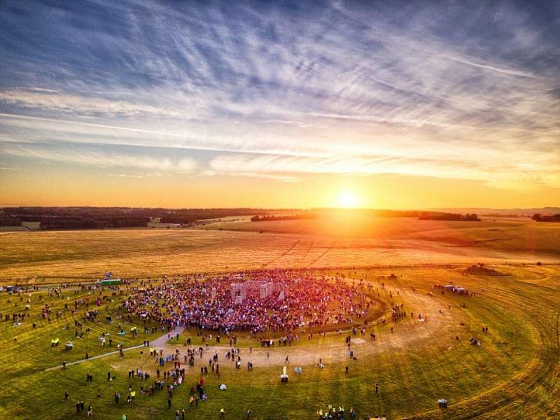 21-го июня 2018-го года Солнце в Стоунхендже взошло не там!