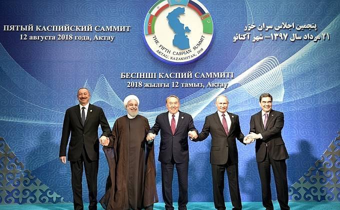 Как поделили Каспийский