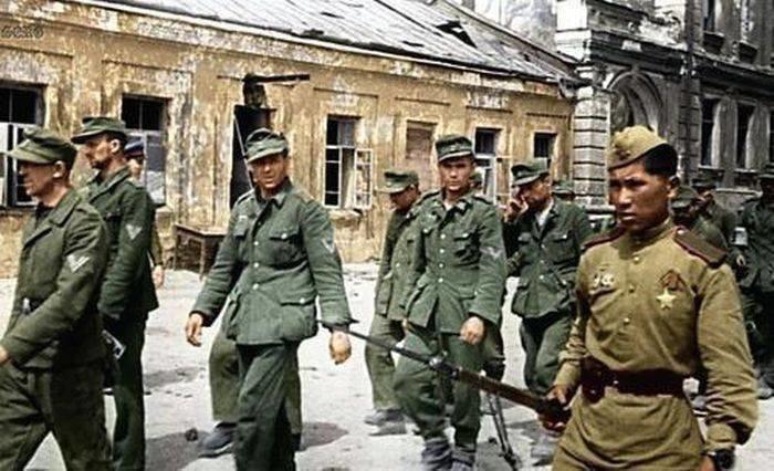 Сталин и расстрел нацистских прихвостней