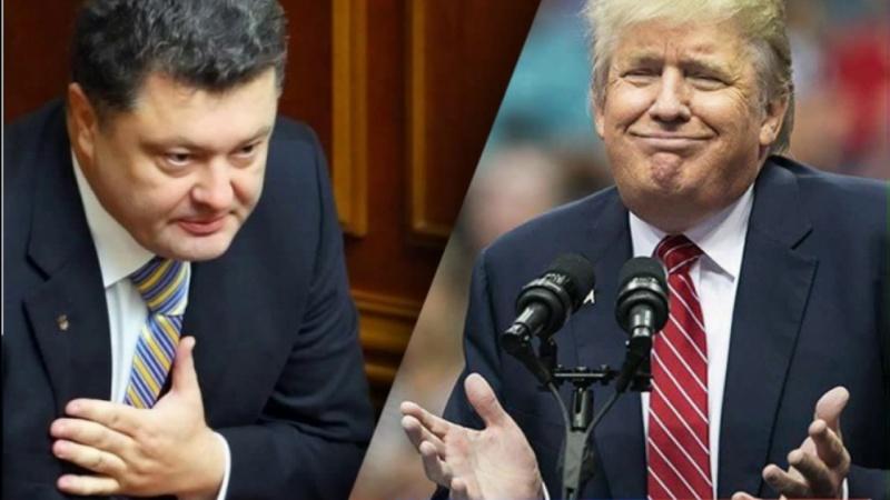 Плахотнюк и Порошенко: Трамп наносит удар по европейским «клинтонитам»