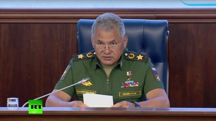 Министр обороны Сергей Шойгу выступил с заявлением по поводу трагедии с самолетом Ил-20
