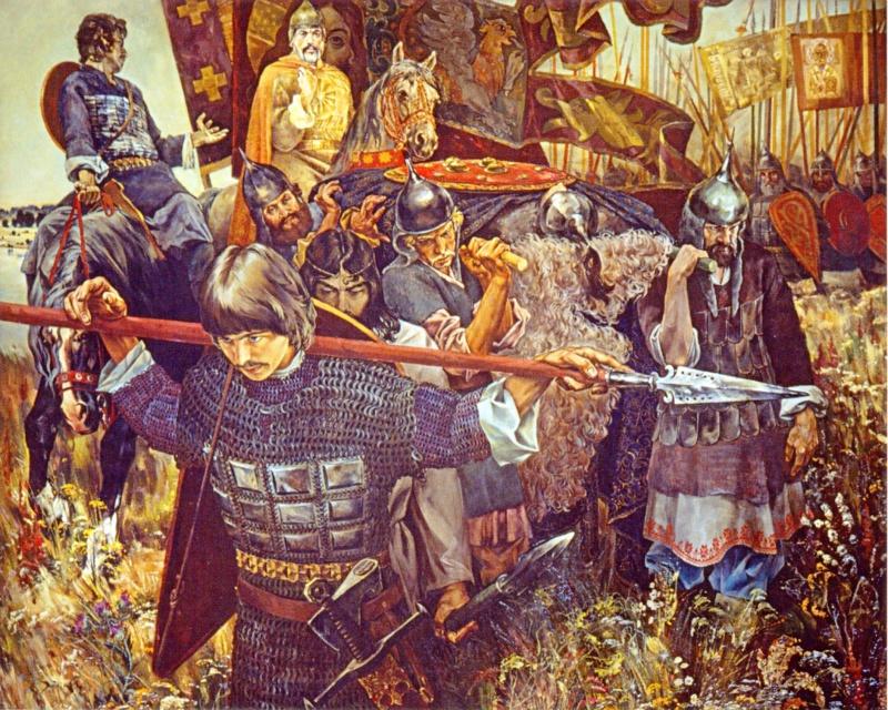 Та битва не закончилась и сегодня 21 сентября 1380 г. на Куликовом поле произошло судьбоносное для России сражение