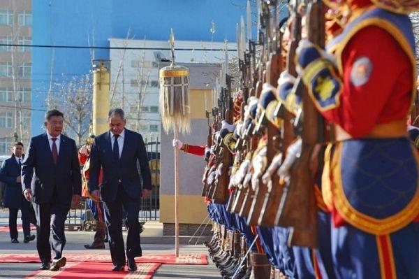 Россия делится с Монголией сирийским опытом