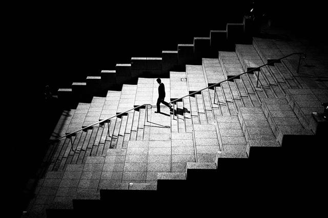 «Лестница свободы», ведущая вниз