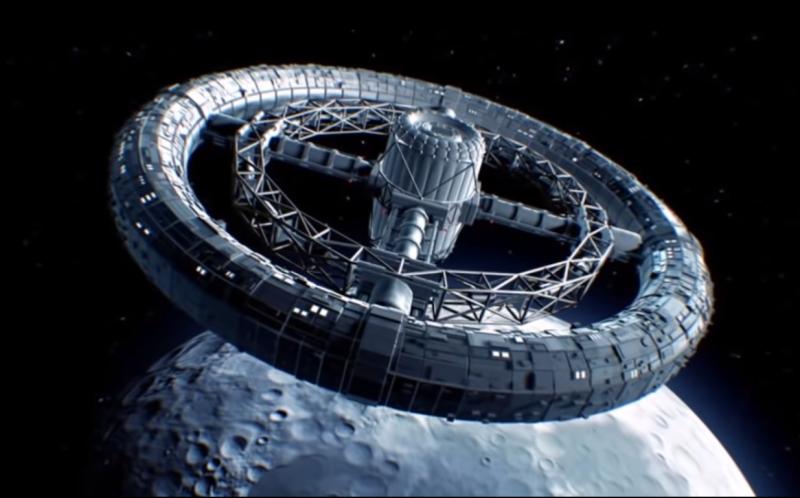 Рядом с Луной зафиксириовали интересный НЛО 1555485072_megastruktura_rjadom_lunoj_3